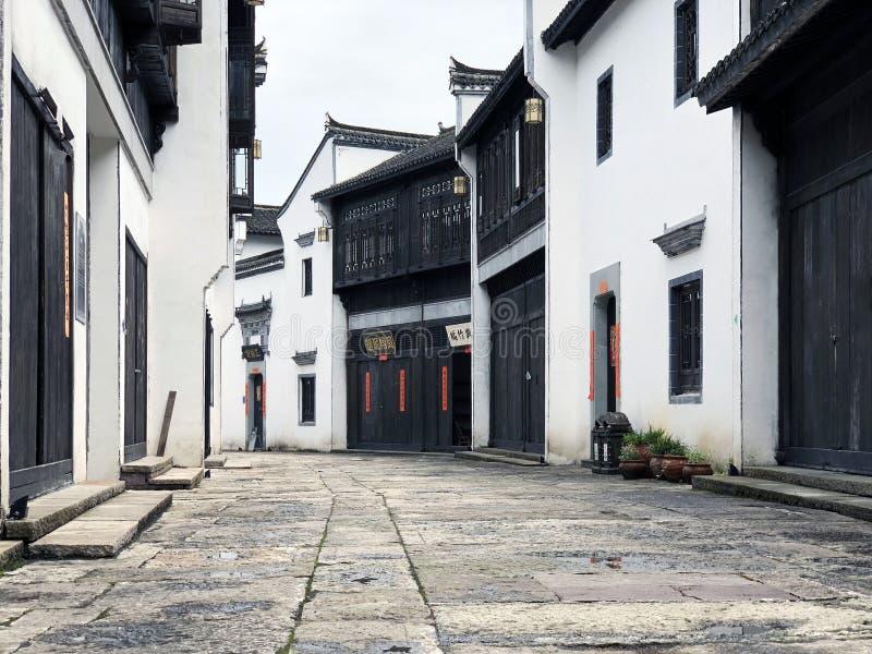 Calle antigua china imagen de archivo