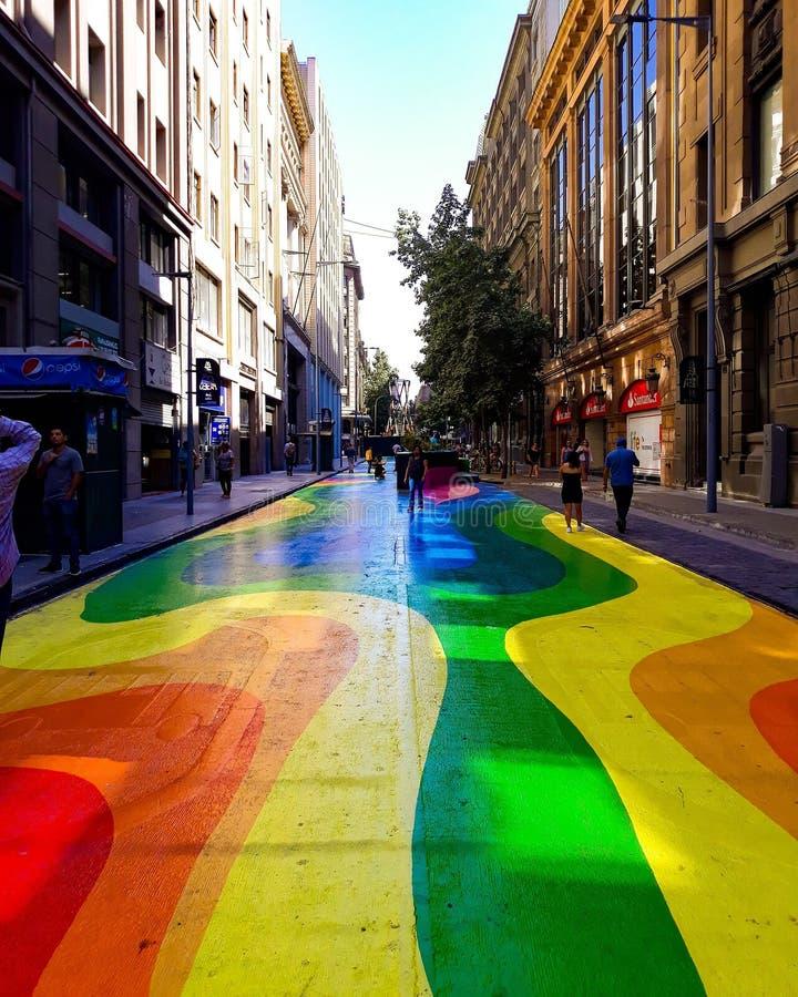 Calle Bandera imagem de stock royalty free