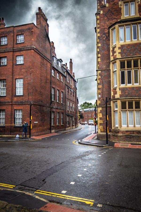 Calle británica clásica imagen de archivo
