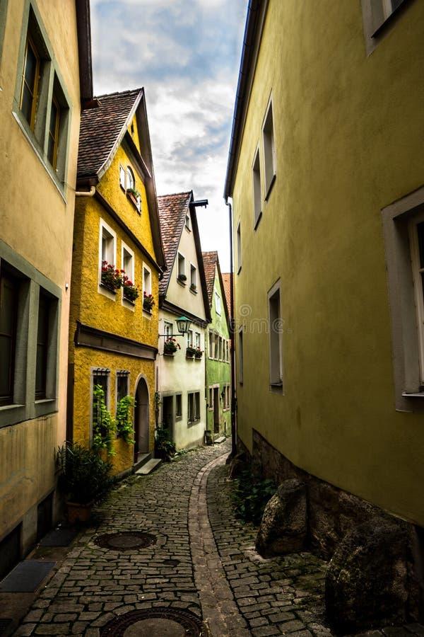 Calle de Alemania fotografía de archivo libre de regalías