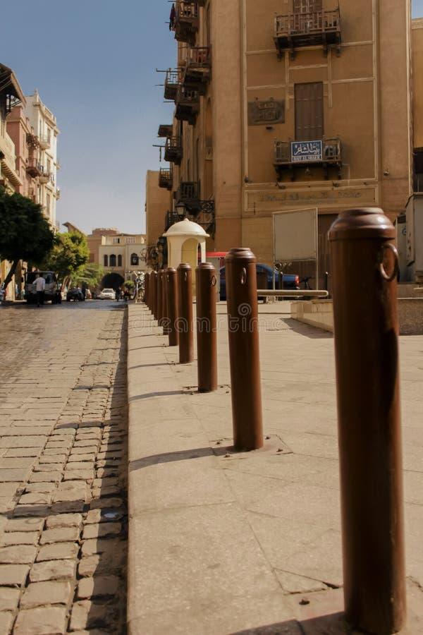 Calle de Almoez foto de archivo