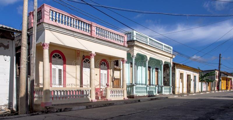 Calle de Baracoa foto de archivo