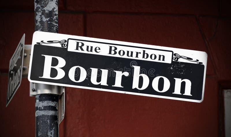 Calle de Bourbon imagen de archivo libre de regalías