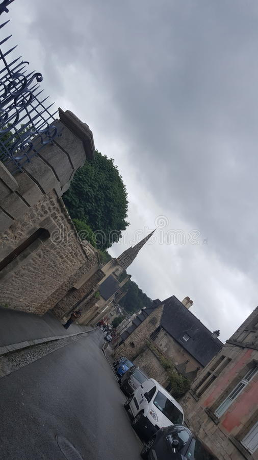 Calle de Bretaña imagen de archivo