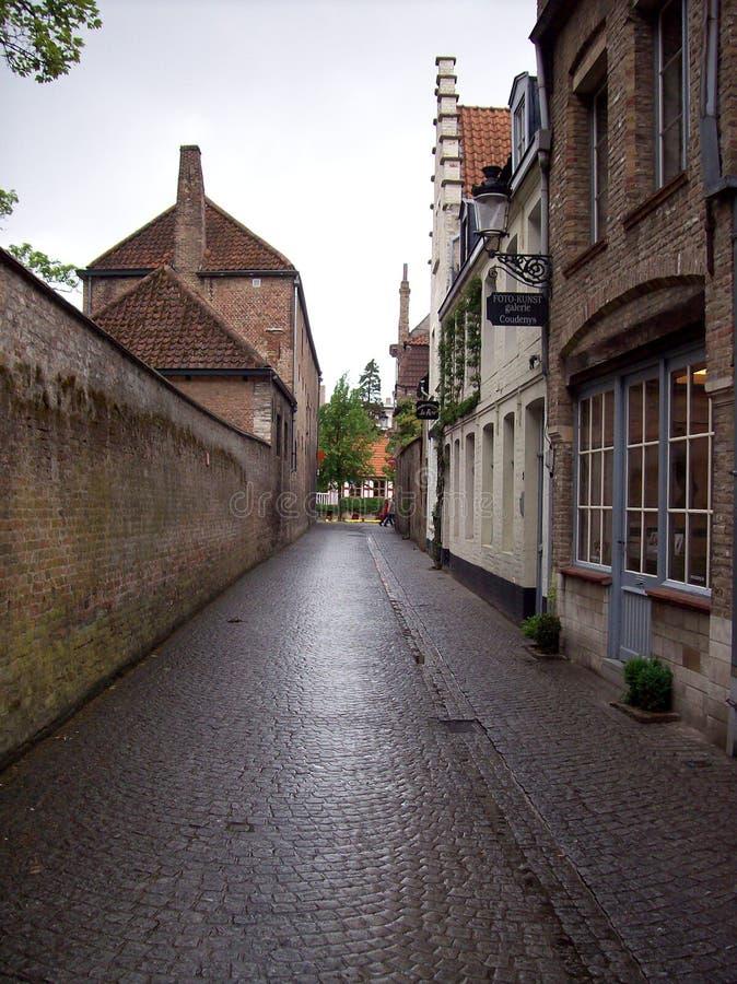 Calle de Brujas fotos de archivo