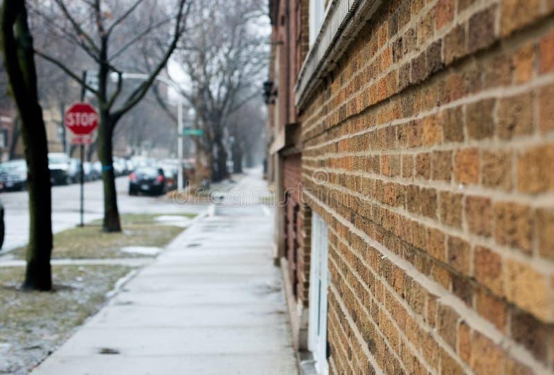 Calle de Chicago fotografía de archivo