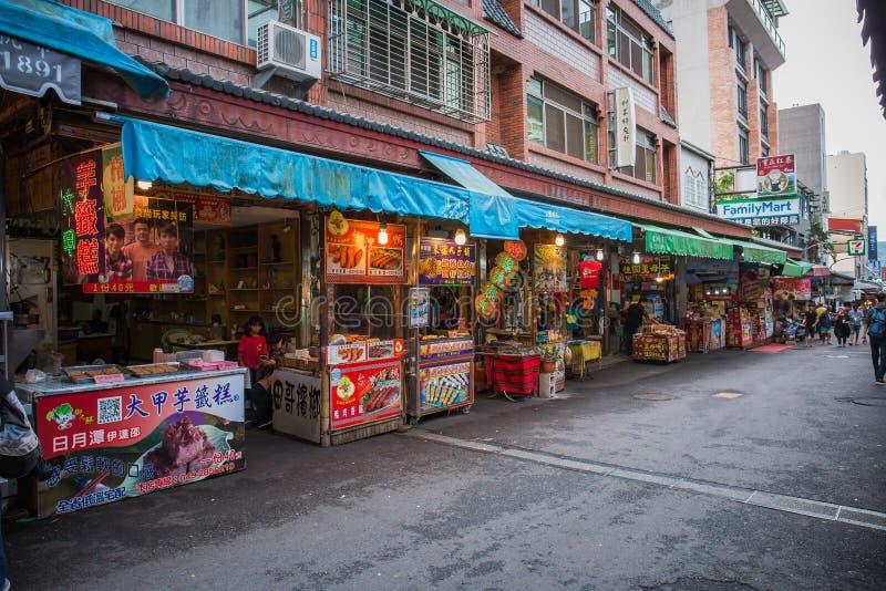 Calle de Ita Thao foto de archivo