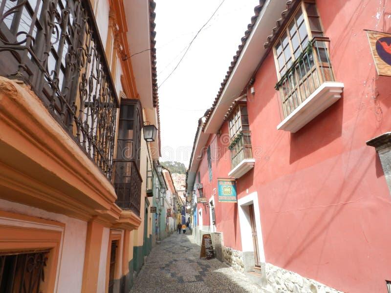 Calle de Jaén fotografía de archivo libre de regalías