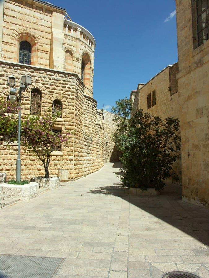 Calle de Jerusalén imagen de archivo libre de regalías