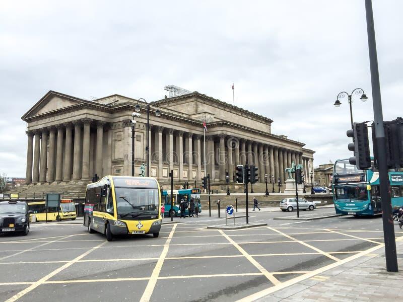 Calle de la cal de Liverpool, Liverpool, Reino Unido imagenes de archivo