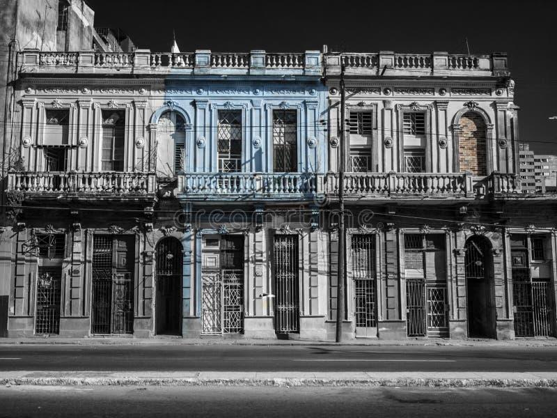 Calle de La Habana, Cuba fotos de archivo