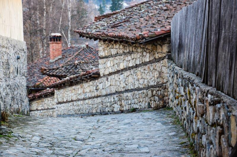 Calle de la montaña imagenes de archivo