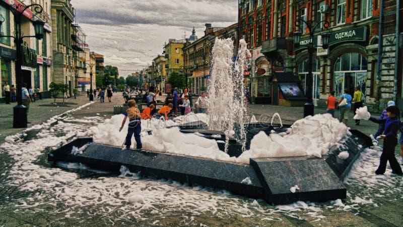 Calle de Lenin foto de archivo