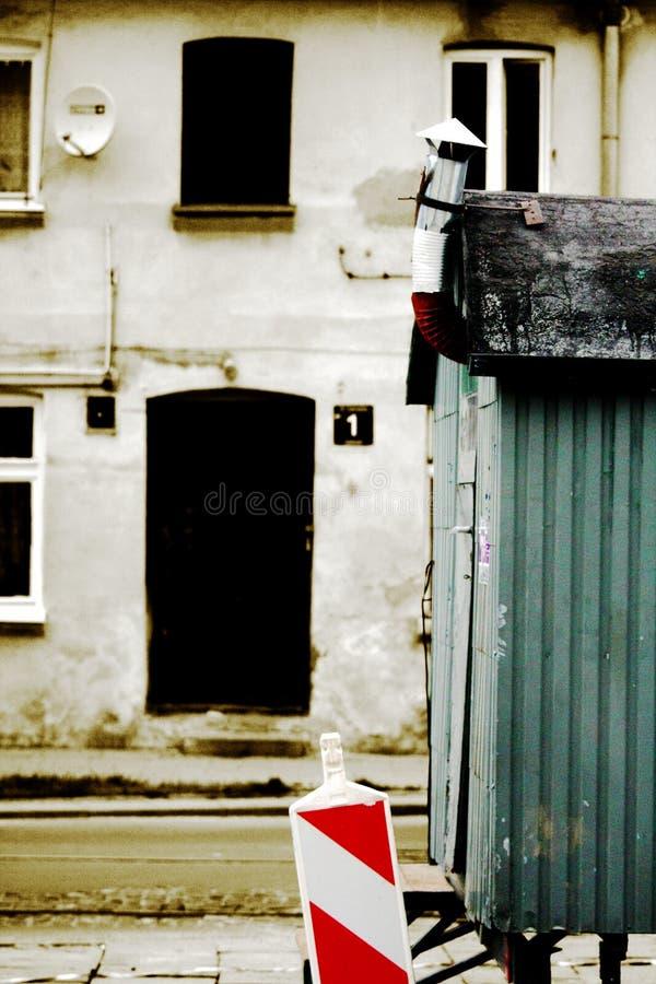 Calle de Lodz imagen de archivo libre de regalías