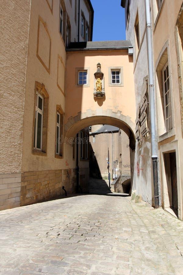 Calle de Luxemburgo imágenes de archivo libres de regalías