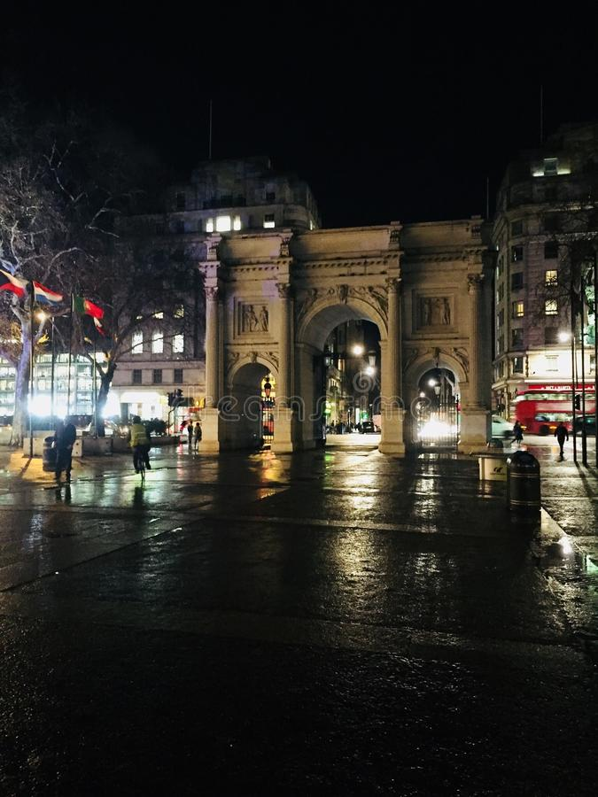 calle de mármol de Oxford del arco foto de archivo libre de regalías