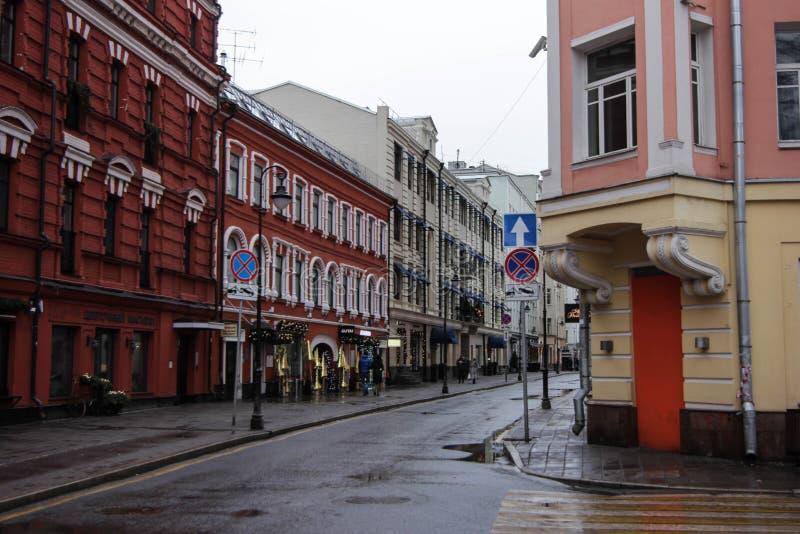 Calle de Malaya Bronaya fotografía de archivo