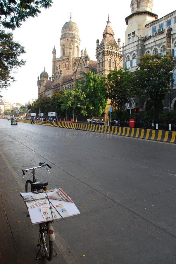 Calle de Mumbai fotografía de archivo libre de regalías