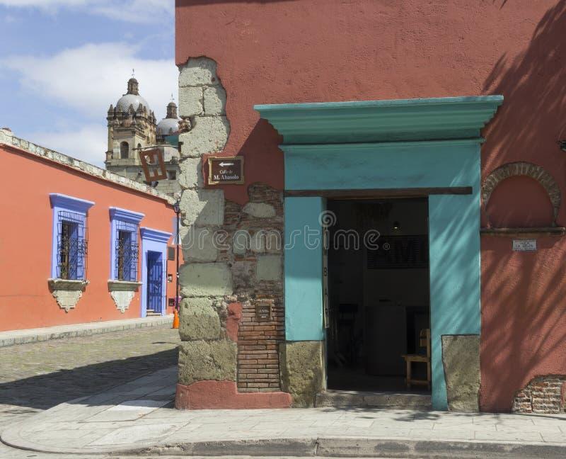 Calle de Oaxaca fotografía de archivo