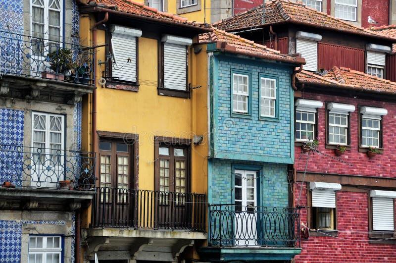 Calle de Oporto, Portugal imagen de archivo