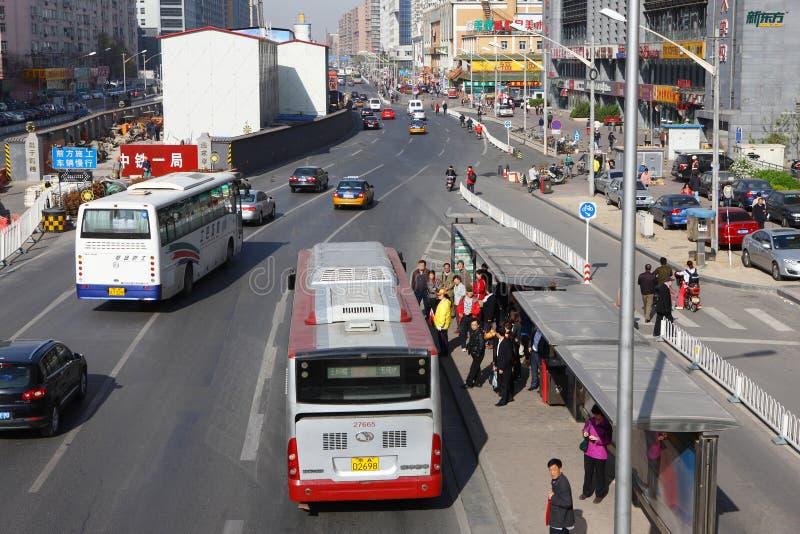 Calle de Pekín fotos de archivo libres de regalías