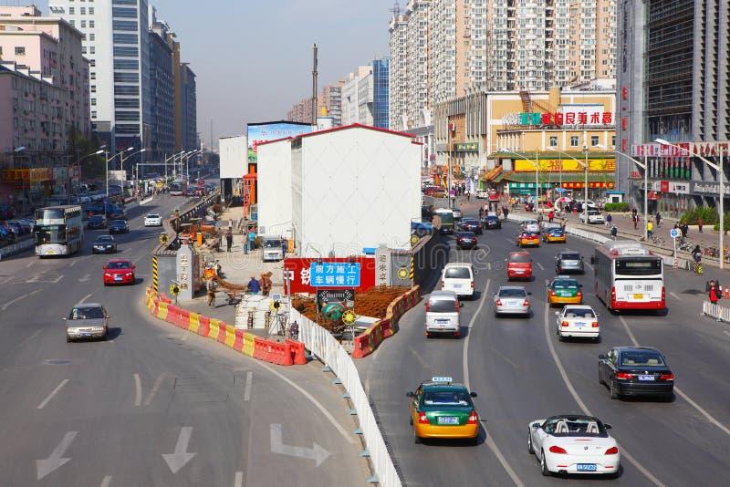 Calle de Pekín fotografía de archivo