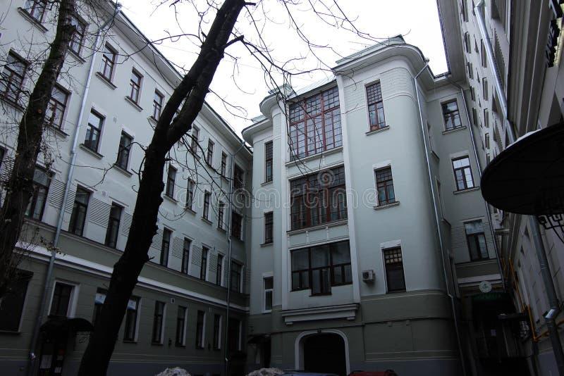Calle de Sadovaya foto de archivo