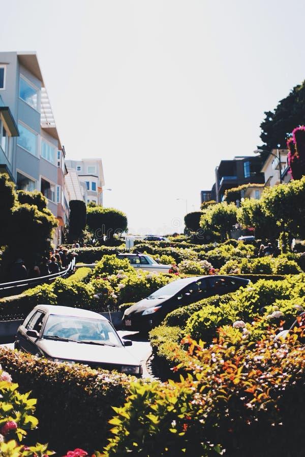 Calle de San Francisco fotografía de archivo