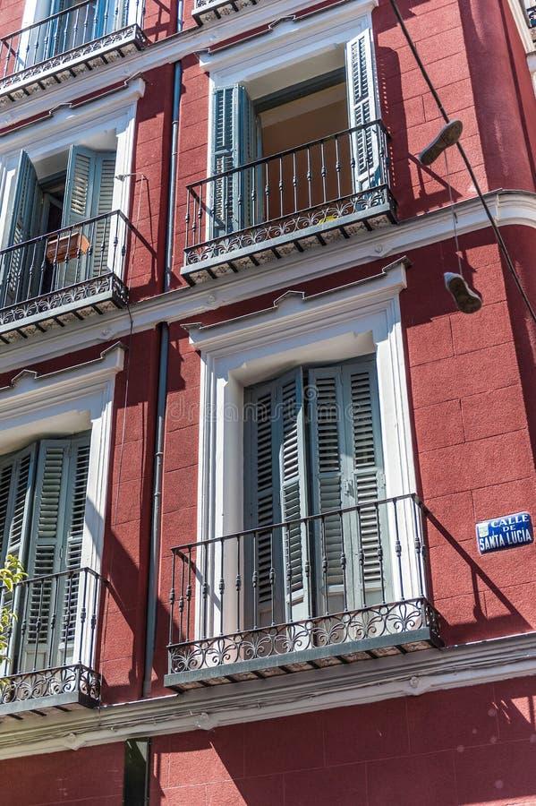 Calle de Santa Lucia στοκ εικόνες με δικαίωμα ελεύθερης χρήσης