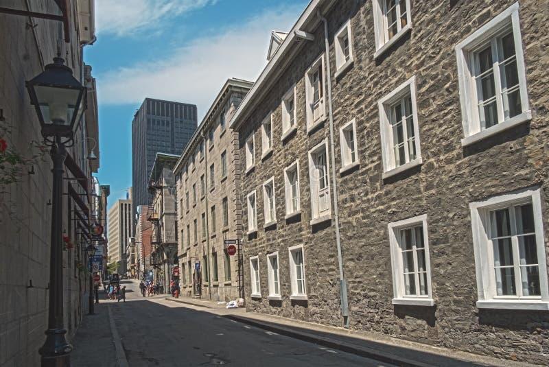 Calle de Santo-Francois-Javier imagenes de archivo