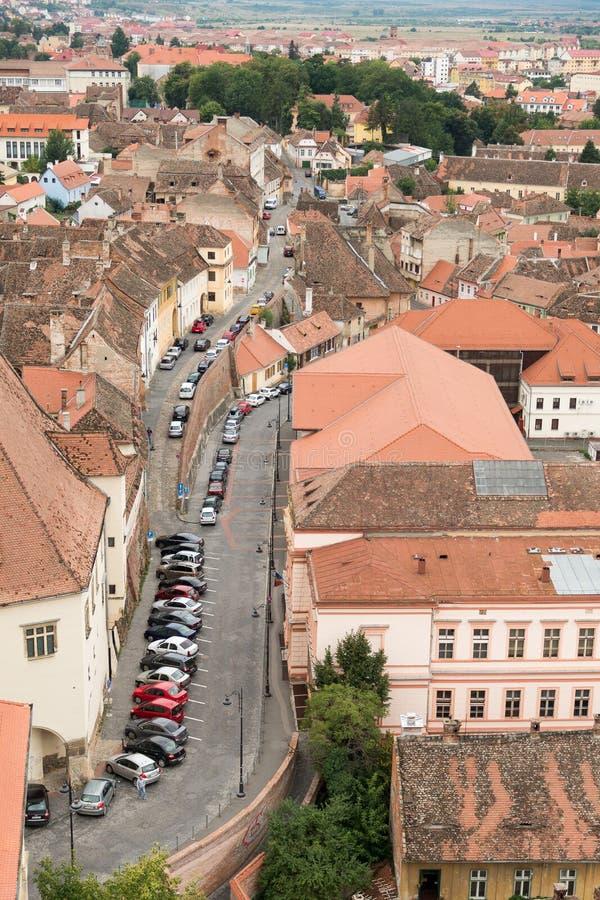 Calle de Sibiu imagen de archivo