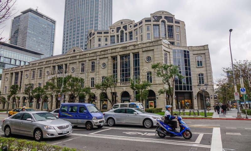 Calle de Taipei, Taiw?n fotos de archivo libres de regalías