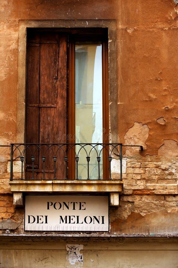 Calle de Venecia imagen de archivo libre de regalías