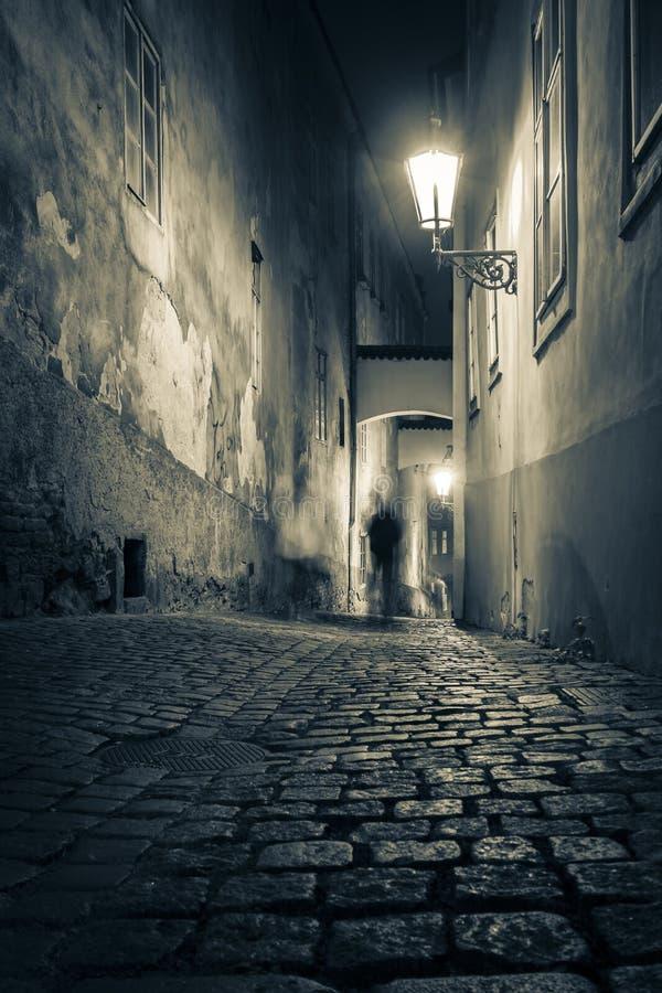 Calle del fantasma fotos de archivo