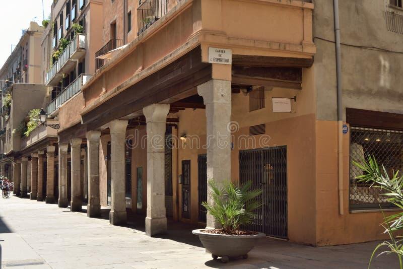 Calle del Rec foto de archivo libre de regalías