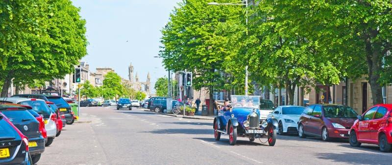 Calle del sur, Saint Andrews fotografía de archivo
