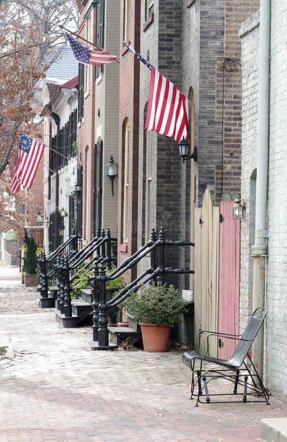 Calle en Alexandría, Virginia