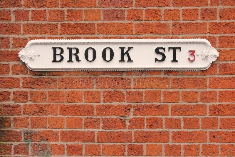 Calle en Birmingham, Reino Unido foto de archivo libre de regalías