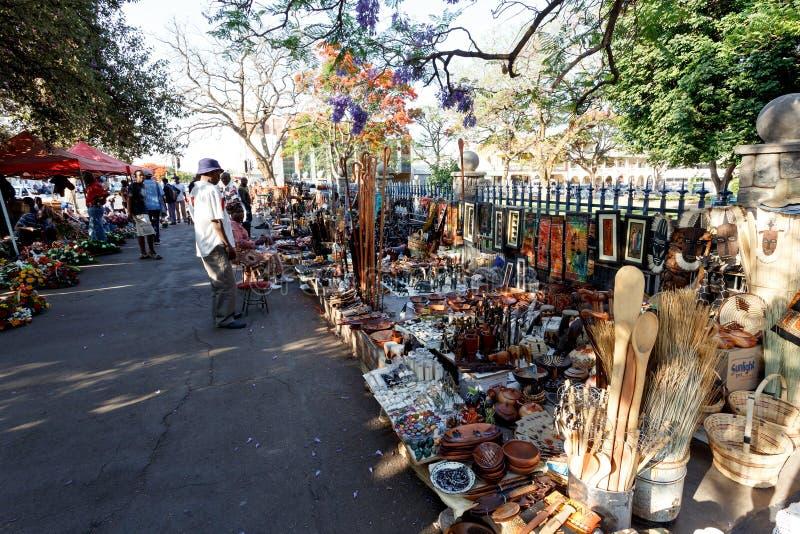 Calle en Bulawayo Zimbabwe foto de archivo libre de regalías