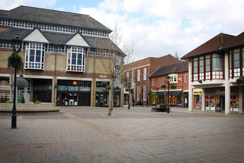 Calle en Colchester imagenes de archivo