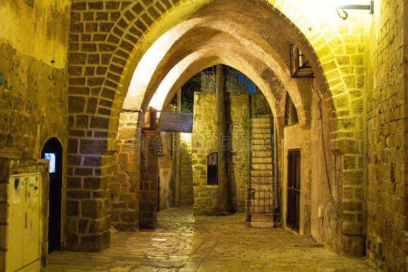 Download Calle En El Puerto Viejo De Jaffa Imagen de archivo - Imagen de arena, caída: 41917797