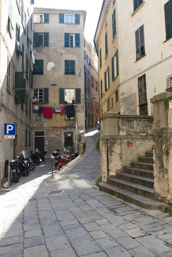Download Calle en Génova foto editorial. Imagen de bloques, cultura - 44855481
