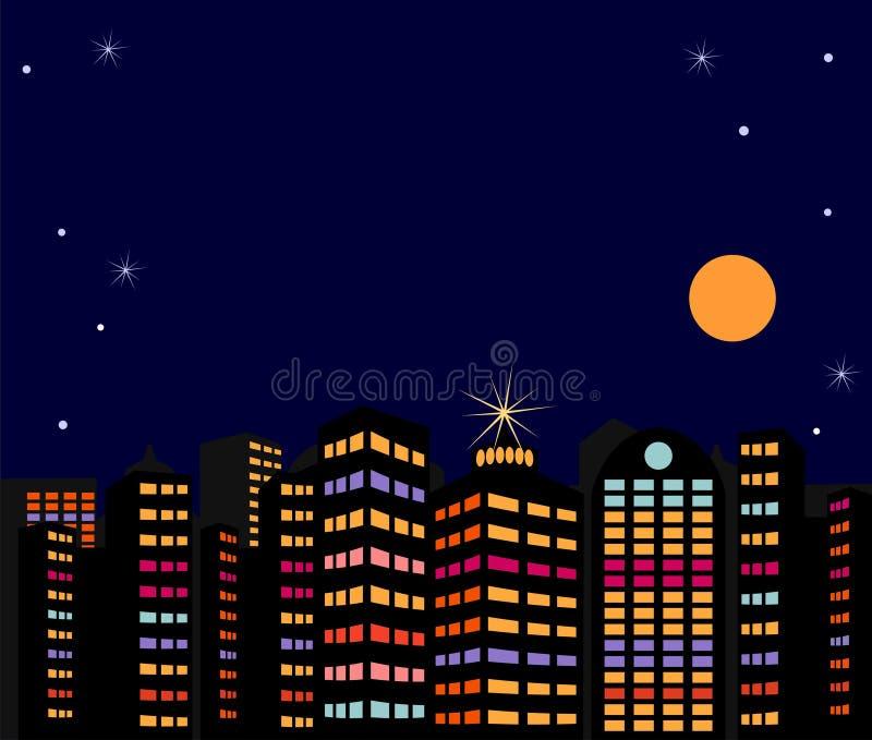 Calle en la ciudad. ilustración del vector