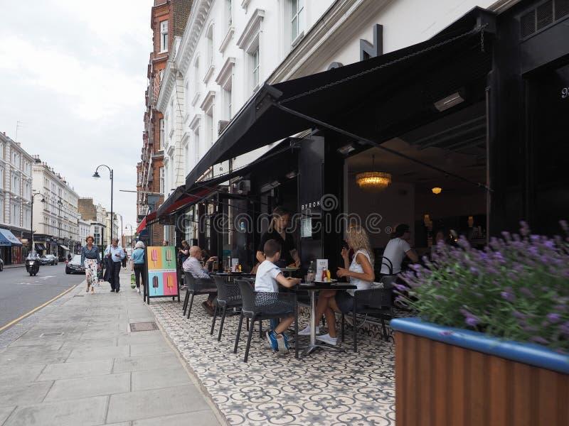 Calle en Londres foto de archivo