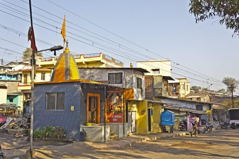 Calle en Nashik fotografía de archivo libre de regalías