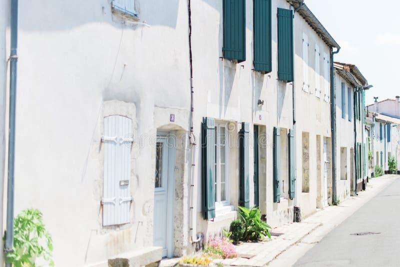 Calle europea pintoresca foto de archivo