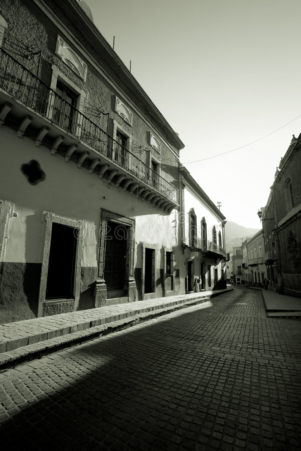calle guanajuato 免版税库存图片