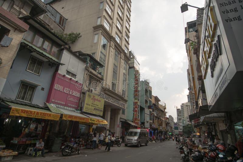 Calle Ho Chi Minh de Malasia foto de archivo