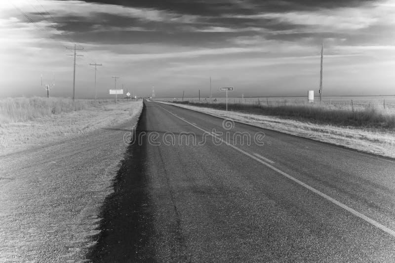 Calle larga plana imagen de archivo libre de regalías