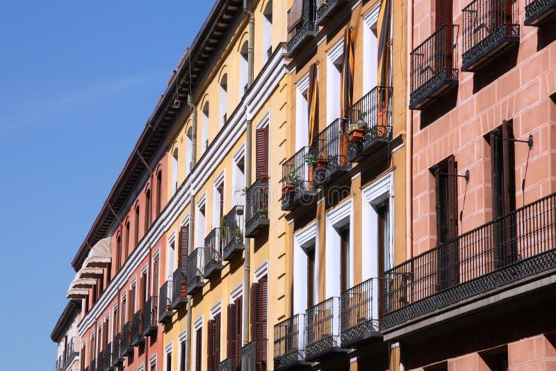 Calle Mayor, Madri fotos de stock